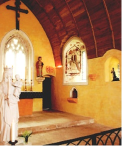 interieur chapelle de l'ermitage